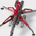 Mini żuraw Hoeflon C30 – jedyny w100% żuraw elektryczny Pick&Carry