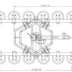 Przyssawka próżniowa KAPPEL DSKZ2-400 CURVED